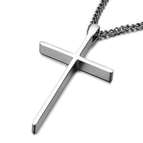 Unisex Pendant Necklace Stainless Polished