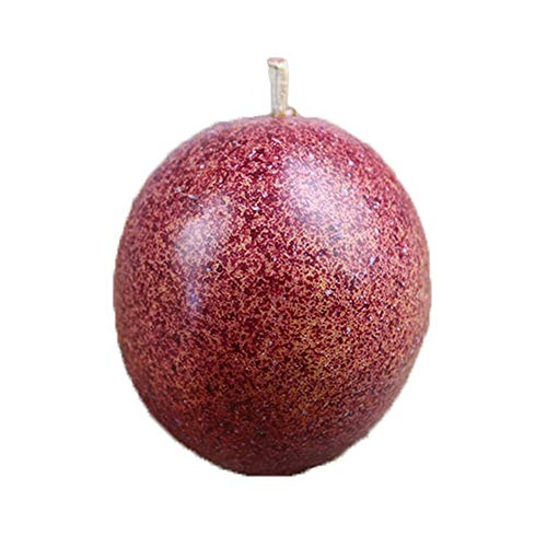 Artificial Fruits 7PCS Simulated Passion Fruit Simulated Fruits Model Lifelike Fake Fruits Home Party Market Display Kids Toy Kitchen Decoration Photography Props (Purple Passion Fruit)]()