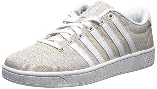 Court White Women's Swiss Sneaker CMF Pro Rainbow II T K EA1PTwqRUP