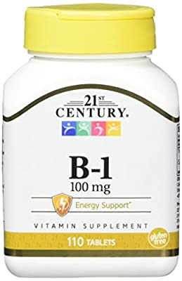 21st Century B-1 Tablets, 100 Mg, 110 Count