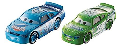 Disney Pixar Cars Character Car Brick Yardley & Cal Weathers Vehicle, 2 Pack