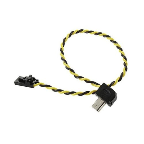 Goliton 5.8g Transmitter FPV A/v Video Real-time Output Cable Cord for Gopro Hero 3/3+ Camera -Black