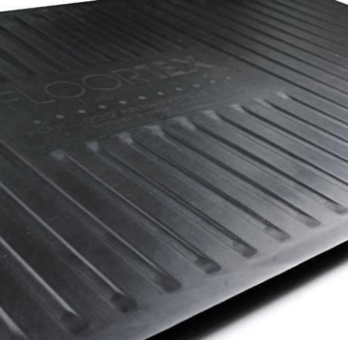 AFS-TEX System 3000, Anti-Fatigue Mat, Designed for Standing Desk Use, Carbon Black, 20'' x 39'' (FC35199ABM) by Floortex (Image #2)