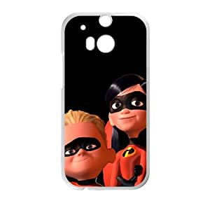 Incredibles HTC One M8 Cell Phone Case White