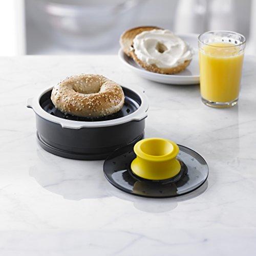 trudeau bagel slicing guide with adjustable thickness general general. Black Bedroom Furniture Sets. Home Design Ideas