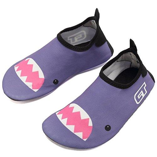 Fortunings JDS Dibujos animados multifuncional descalzo niños zapatos de agua ligero surf buceo nadando natación Aqua calcetines: Amazon.es: Deportes y ...