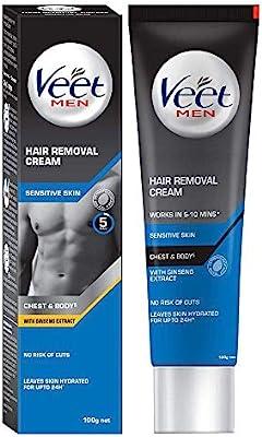 فيت كريم إزالة الشعر للرجال والبشرة الحساسة 100 جم Amazon Ae
