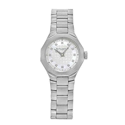 Baume & Mercier Riviera analog-quartz womens Watch MOA08715 (Certified Pre-owned)