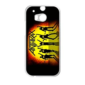 Rockband Anthrax Phone Case for HTC One M8