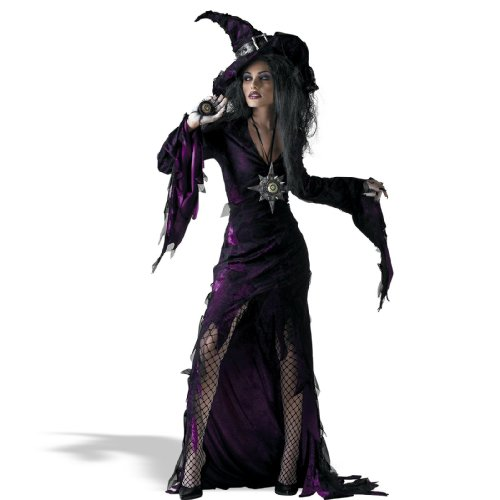Sorceress Costume Child (Disguise Unisex Child Sorceress, Purple, JR (7-9) Costume)