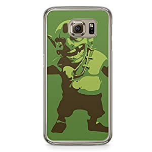Clash of Clans Samsung Galaxy S6 Transparent Edge Case - Goblin