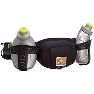 Nathan Trail Mix Hydration Belt, Black