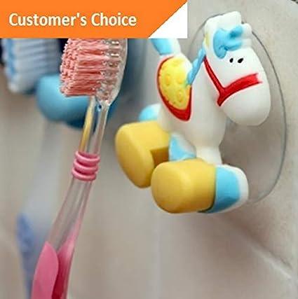 Amazon.com: Hebel 3D Cute Cartoon Toothbrush Holder Wall ...