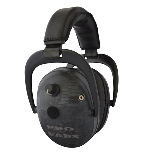 Pro Ears - Predator  Gold - Hearing Protection and Amplfication - NRR 26 - Contoured Ear Muffs - Typhon