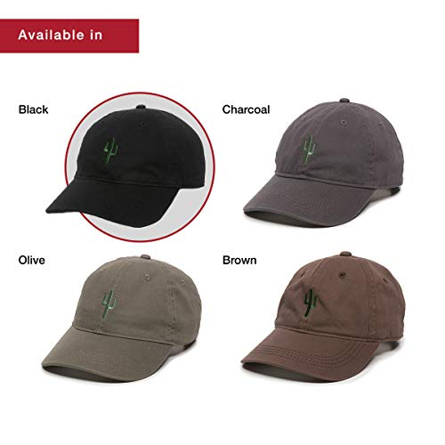 d0f25f81045 Cactus Embroidered Dad Hat - Adjustable Polo Style Baseball Cap for Men    Women