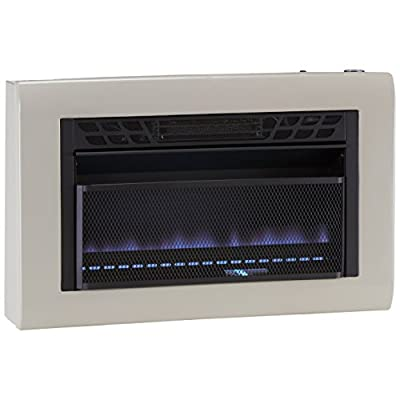 Cedar Ridge Hearth Dual Fuel Vent Free Blue Flame Heater - 30,000 BTU, T-STAT Control