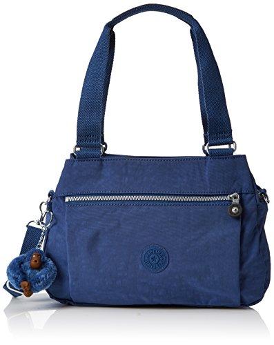 Kipling Orelie, Borsa Donna, 31x20.5x12 Cm Blu (Bleu jazzy)