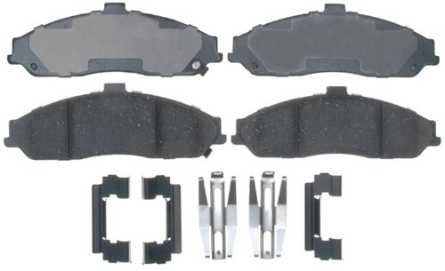 ACDelco 17D731CH Professional Ceramic Front Disc Brake Pad Set