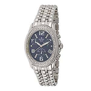 Regnier Classic Women's Blue Dial Stainless Steel Band Watch - 81074A