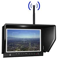 LILLIPUT 664/W 7 INCH LCD FPV MONITOR W/5.8 GHZ 8 CHANNEL RX - FOR DJI 5.8 & MORE