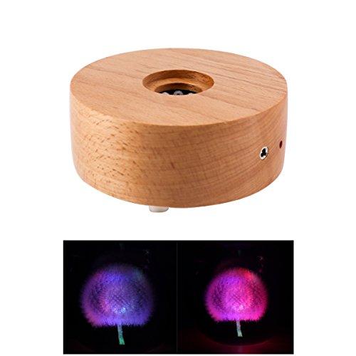 Wood Led Light Base - 6