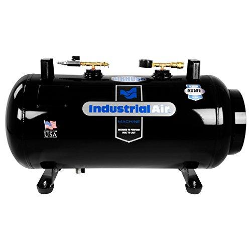 Industrial Air IT20ASME 20 gallon ASME Certified Vertical/Horizontal Air Receiver Tank