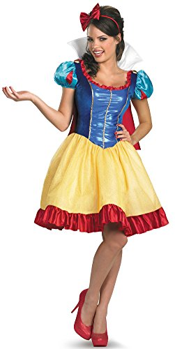 Disguise Costumes Snow White Fab Deluxe Costume, Adult, X-Large
