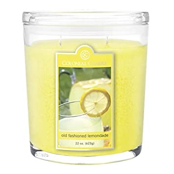 colonial candles old fashioned lemonade 22 oz