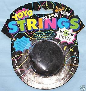 5 Black Yo Yo String Replacements by - Moose Marlon