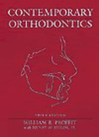 By William R. Proffit DDS PhD - Contemporary Orthodontics, 3e (3rd Edition) (1999-09-08) [Hardcover]