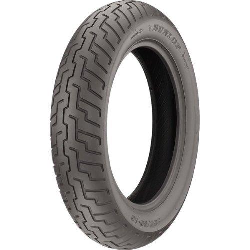 - Dunlop D404 Front Tire (120/90-18)
