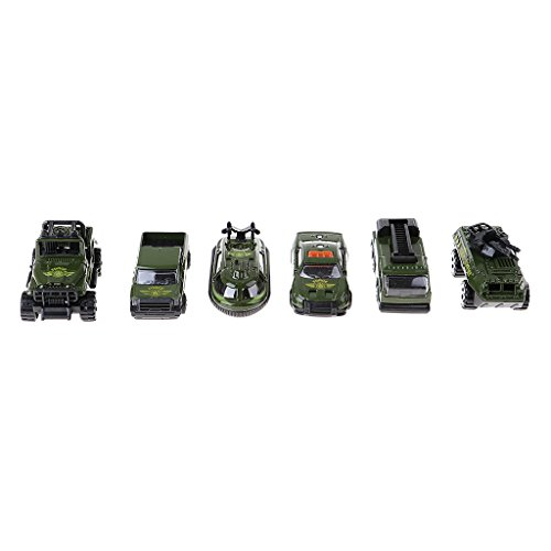 D DOLITY 6x 1/64 Military Truck Tank Vehicle Model for sale  Delivered anywhere in Canada