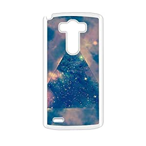 Simple triangle pattern lovely phone case for LG G3