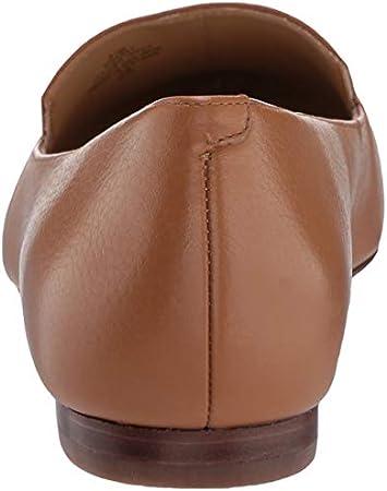 Nine West Women's Fashion Flat Loafer, Dark Natural