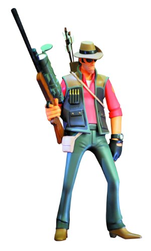 Gaming Heads Team Fortress 2 Red Sniper Statue