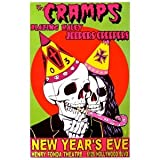 The Cramps Poster w/ Jeepers Creepers & Blazing Haley 2003 Concert
