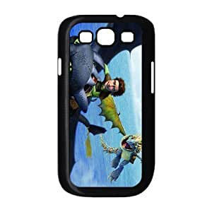 Custom Cartoon Movie How To Train Your Dragon Back Case for SamSung Galaxy S3 i9300 JNS3-899