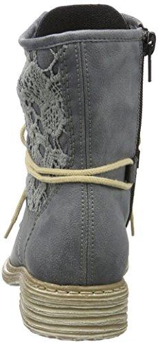 Damen Z2118 Stiefel Blau Rieker Kurzschaft ZqPWwdBxqU