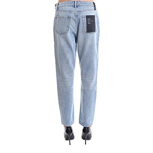 4d994200bx015 Jeans Donna Azzurro Wang Alexander Cotone t8wtRq