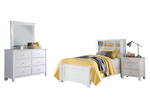 Acme Mallowsea 4-Piece Twin Bedroom Set, White