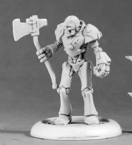 West Tin (Reaper Miniatures Wild West Wizard of Oz Tin Man #50313 Chronoscope Mini Figure)