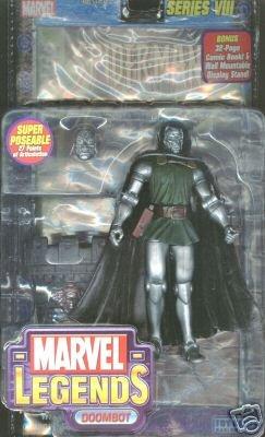 Marvel Legends Series 8 Action Figure Dr. Doom Doombot Variant