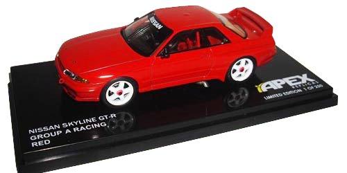 APEX REPLICAS 1/43 Nissan Skyline GT-R Gr.A Racing ROT (japan import)