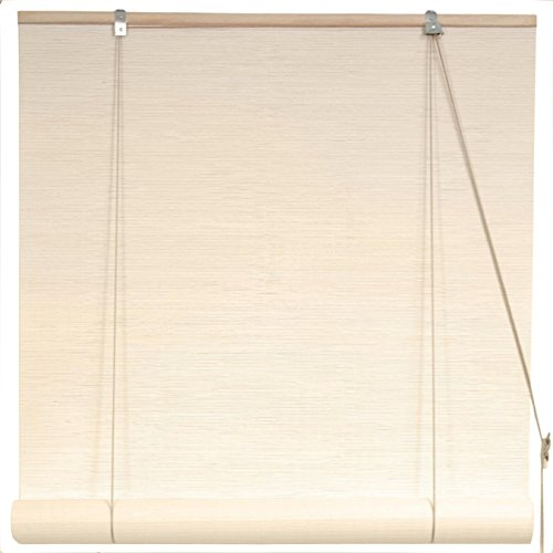 Oriental Furniture Cream Bamboo Blinds - (60 in. x 72 in.) (Bamboo Wicker Furniture)