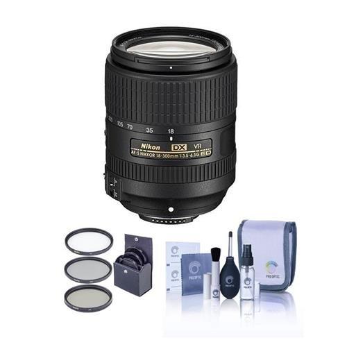 Nikon 18-300mm f/3.5-6.3G ED IF AF-S DX NIKKOR VR Lens - U.S