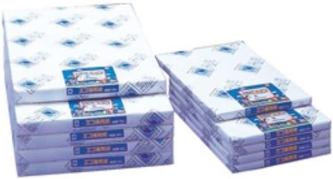 エコ画用紙8切8包1600枚 中厚 190-531