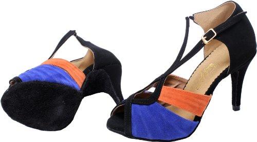 Minitoo - Zapatillas de danza de sintético para mujer negro - negro