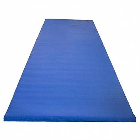 ECO-friendly 5 mm yoga mat en azul: Amazon.es: Deportes y ...