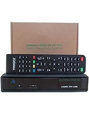 ZGEMMA Star H2 met UK 3-polige stekker Linux Full HD FTA Combo receiver