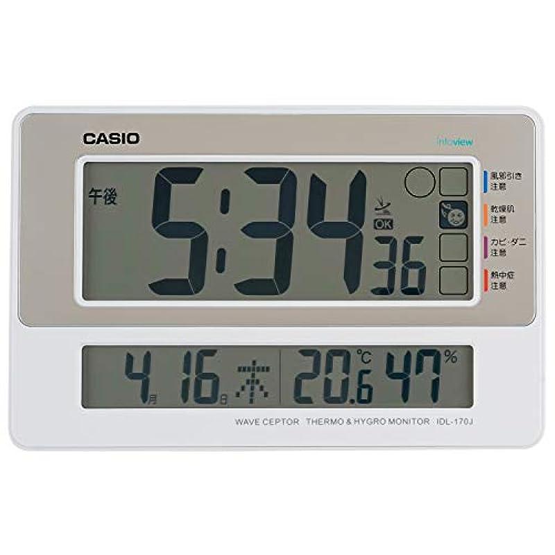카시오 디지털 탁상시계 IDL-170J